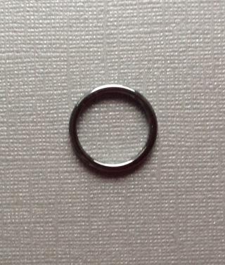 Shiny Hematite Ring