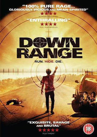 DOWN RANGE DVD IN WHITE SLEEVE