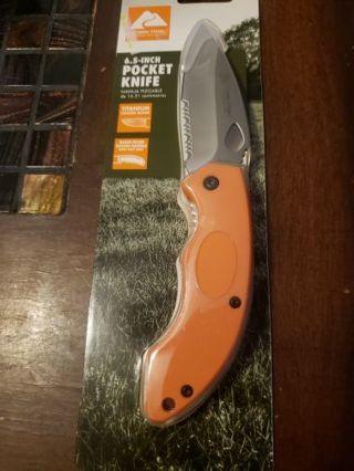 Ozark trail 6.5 inch pocket knife brand new in Package