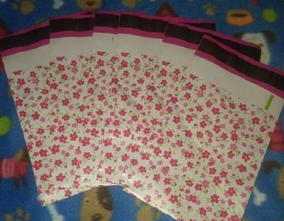 4 Brand New 6x9 poly mailers