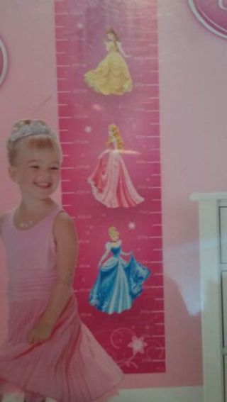 Disney Princess Growth Chart *NEW*