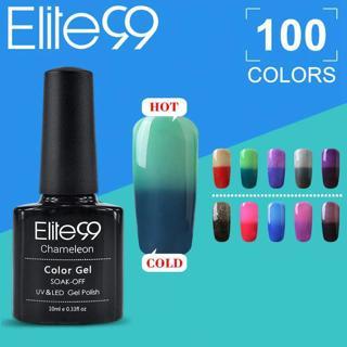 Elite99 Mood Temperature Changing Nail Gel 10ml UV Nail Polish Gel Varnish Thermal Color Change Na
