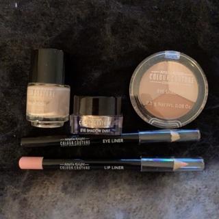 5 piece color couture makeup