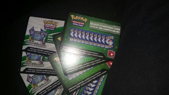 Pokemon online trading card codes
