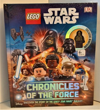 "LEGO STAR WARS ""Chronicles of the Force"" hardcover book - New/sealed - NIP"