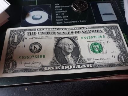 Repeater Dollar Bill and Uncirculated War In The Pacific Quarter
