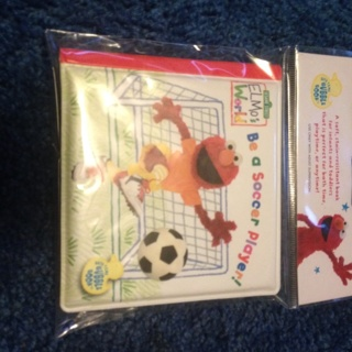 New baby plastic puffy book