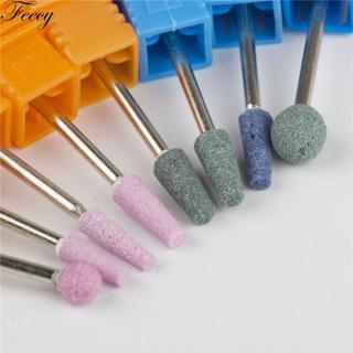 Milling Cutter Manicure Ceramic Milling Cutter Cuticle For Manicure Nail Drills Bits Corundum Cutt