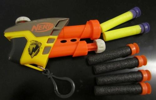 FREE: Mini Nerf Gun Keychain and 6 Darts