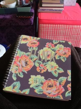 PINK Floral School Planner Victoria's Secret
