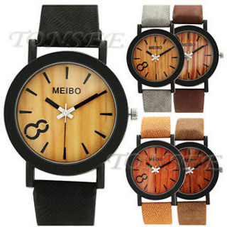 Fashion Men Date Watch Stainless Steel Leather Analog Quartz Military Watches