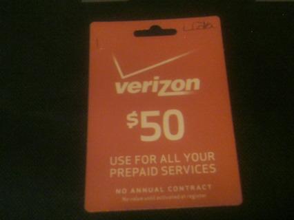 $50 verizon phone card