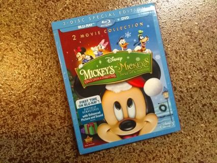 3 disc special ed. mickey's once and twice upon a christmas