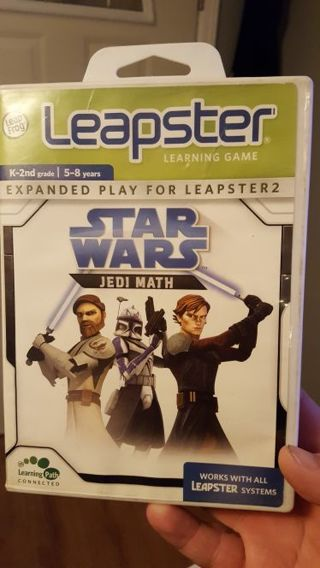 Leapster Learning Game Star Wars Jedi Math