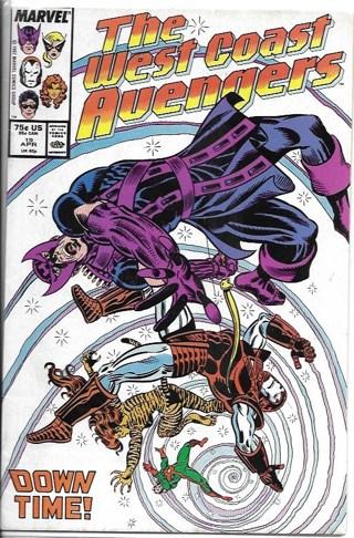 The West Coast Avengers #19 Marvel Comics