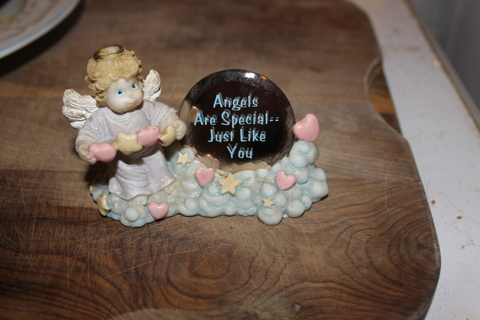 Angel are special just like you figurine..