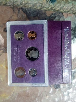 1984.US PROOF SET. IN ORIGINAL GOVERNMENT PACKAGING.. VERY NICE LUSTER