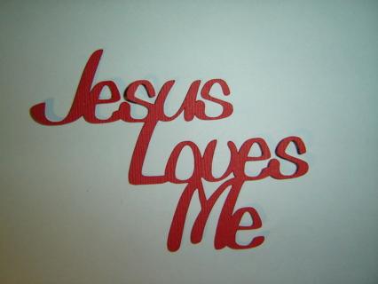 Jesus Loves Me (QUOTE) Last One