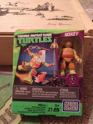 Ninja Turtle Mega Bloks