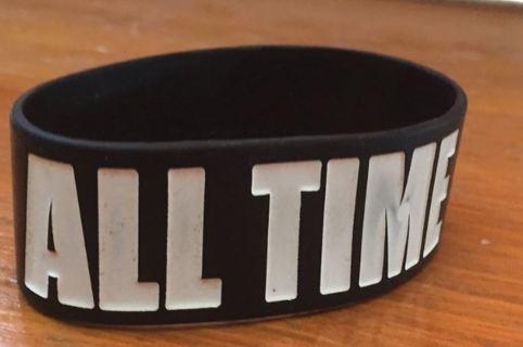 ALL TIME LOW wristband bracelet band music rock punk pop metal emo biker streetwear goth