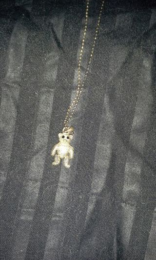 Moveable bear necklace