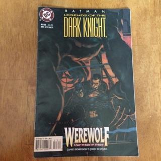 Batman: Legends Of The Dark Knight, #73 July 1995 - DC Comics
