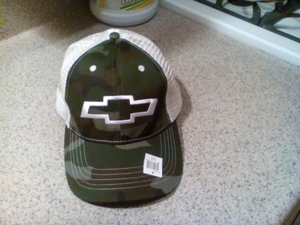 New chevy camo hat