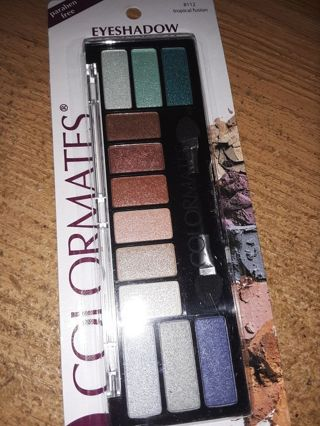 BNIP- COLORMATES TROPICAL FUSION EYESHADOW