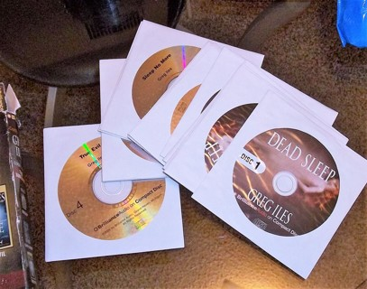 Greg Iles Audio Books on CD - Three Suspense Thrillers