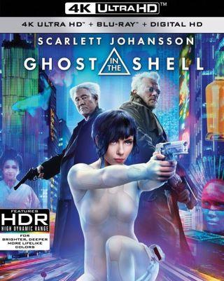 Ghost In The Shell (Digital Code - 4k Ultra HD)