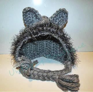 Free  Crochet Wolf Hat Pattern - Other Clothing - Listia.com ... 07665db4a79