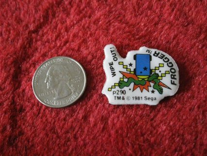 1981 Sega Frogger Series Refrigerator Magnet: #p290 Wipe Out!
