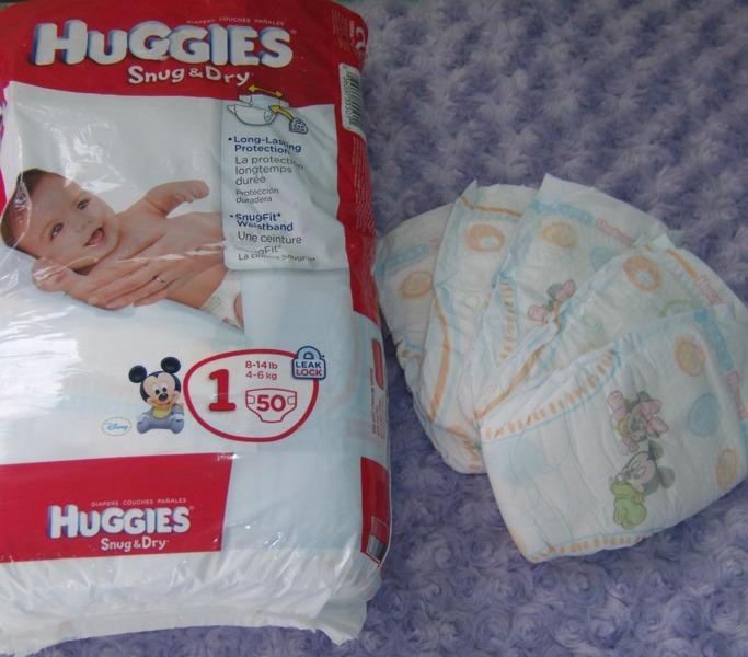 Free: 5-HUGGIES® Snug & Dry Leak Lock Diapers-Size1(8-14lb ...