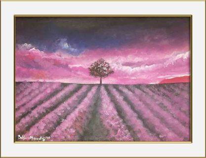 """beauty"" print of an Original acrylic Painting"