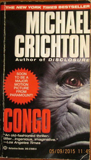 book review congo by michael crichton