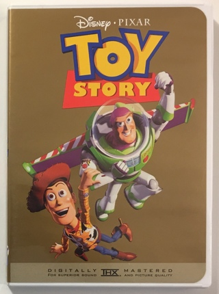Disney Pixar Toy Story Gold Classic Collection DVD Movie With Case and Artwork - Mint Disc!