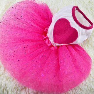Pet Puppy Dog Cat Lace Skirt Princess Tutu Dress Summer Clothes Apparel NEW