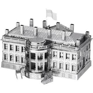 Free Fascinations Metal Earth White House 3d Metal Model