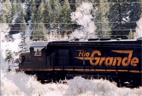 "Rio Grande limited edition print signed and dated by the artist! 4"" x  6"""