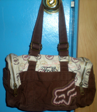 Fox Racing Handbag Purse