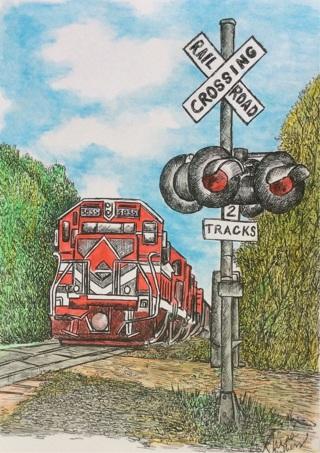 For you Train and Railroad Fanatics! ~ pick 2 for GIN!