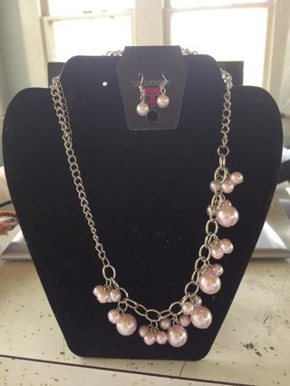 Paparazzi Necklace and Ear ring set