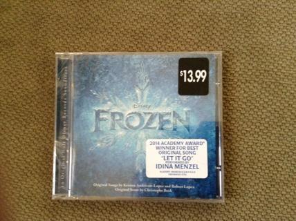 Frozen Sound Track - Brand New