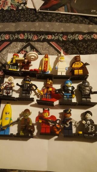 Lego Mini figure lot of 15