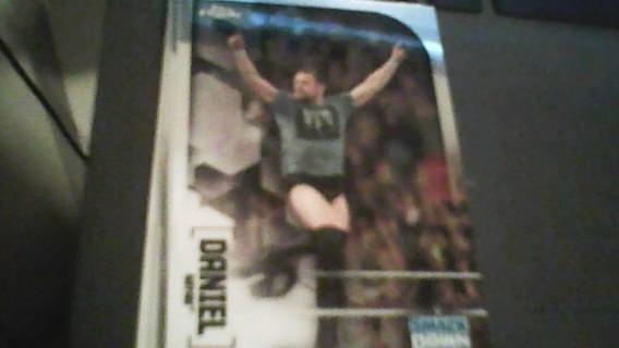 2020 WWE Topps Chrome Daniel Bryan Wrestling card