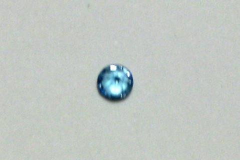 3mm Round Light Blue Loose Gemstone