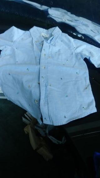 Boys- size 5T- formal- long sleeve button down shirt