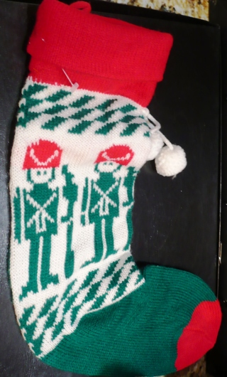 Almost New (No Tag) long Marching Soldier's Cloth Stocking
