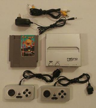 RETRO ENTERTAINMENT SYSTEM Nintendo NES with PAC MAN game