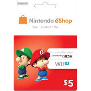 eCash - Nintendo eShop Gift Card  5 - Switch   Wii U   3DS  Digital Code  729c073f6e8
